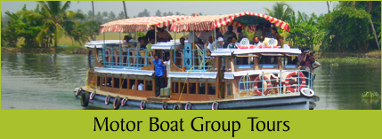 Kerala Motor Boat Group Tours